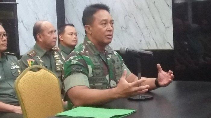 KSAD Jenderal Andika Prakasa Rapat dengan Panglima TNI Bahas Penanganan Covid-19
