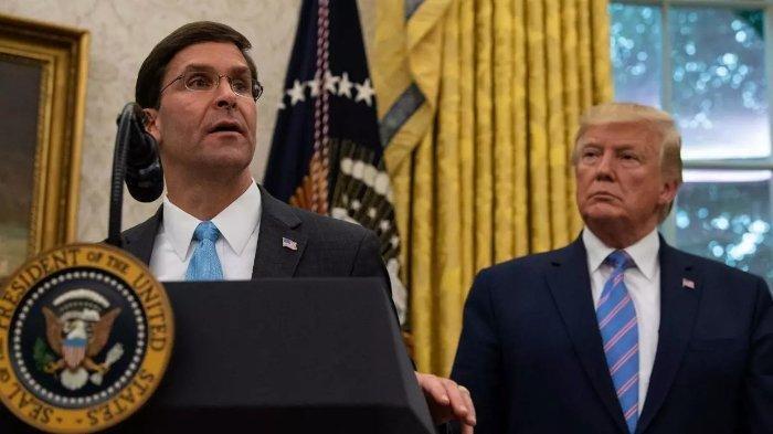 Donald Trump Ingin Pecat Menteri Pertahanan Amerika