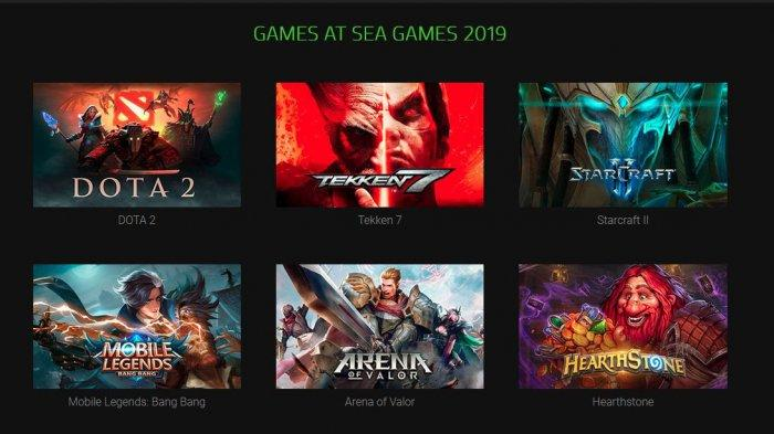 Live Streaming Mobile Legends di SEA Games 2019, Malaysia VS Vietnam