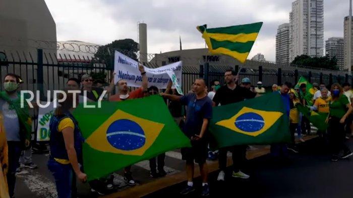 Beda Pendapat soal Penanganan Corona, Menteri Kesehatan Brasil Mengundurkan Diri