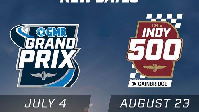 Resmi: Balapan Indianapolis 500 Ditunda hingga 23 Agustus Akibat Virus Corona